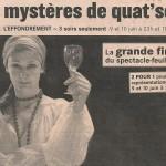 Chantal Dumoulin - Les Mystères de Quat'Sous, 2006